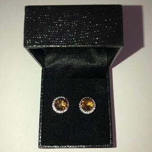 Jewelry - Gold Coast Earrings Topaz Stone Citrine Color